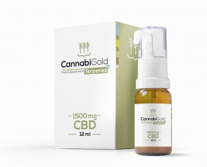 CannabiGold Terpenes+ 1500 mg CBD 12 ml