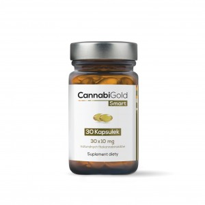 CannabiGold Smart 10 mg 30 kapsułek