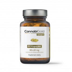 CannabiGold Smart 10 mg 60 kapsułek