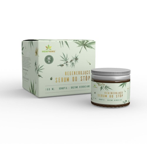 Regenerujące serum do stóp z CBD 100 ml Hemp King
